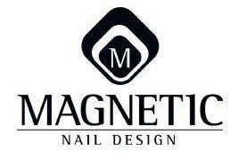 Magnetic nail desgin logo